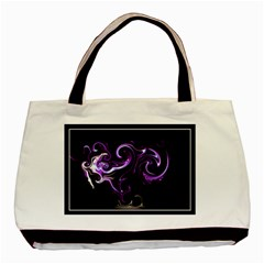 S20 Twin Sided Black Tote Bag