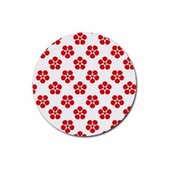 Flowers Drink Coasters 4 Pack (round)