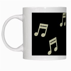 music White Coffee Mug