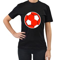 Football Champions League Manchester United Womens' T Shirt (black)