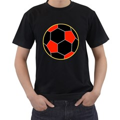 Football Europe Champions League Ac Milan Mens' T Shirt (black)