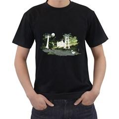 Castlewood Mens' T-shirt (Black)
