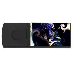 L308 4GB USB Flash Drive (Rectangle)