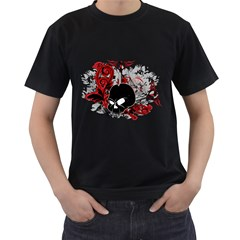 Skull Mens' T-shirt (Black)