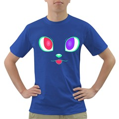Cat Eyes Mens' T Shirt (colored)