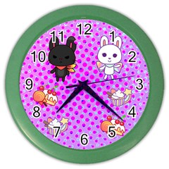 Times Wall Clock (Color)