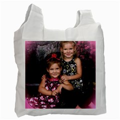 Candence And Abbey   Copy Recycle Bag (two Sides)