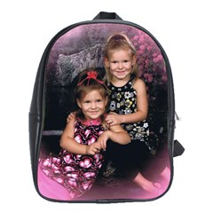 Candence And Abbey   Copy School Bag (large)