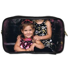 Candence And Abbey   Copy Travel Toiletry Bag (One Side)