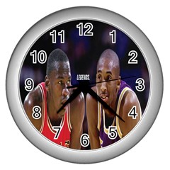 Legends. Wall Clock (Silver)