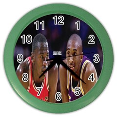 Legends  Wall Clock (color)