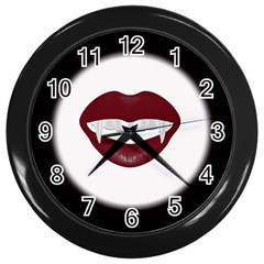 Vampire Inspired Wall Clock (black)