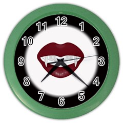 Vampire Inspired Wall Clock (Color)