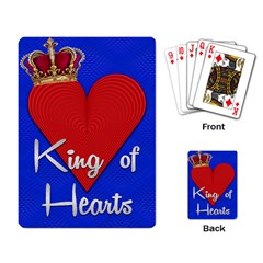 King Of Hearts Playing Cards Single Design