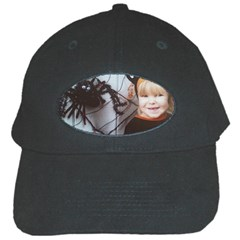 Spider Baby Black Baseball Cap