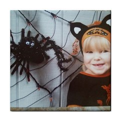 Spider Baby Ceramic Tile