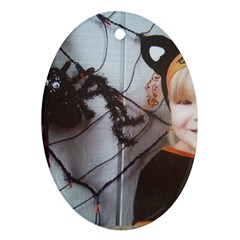 Spider Baby Oval Ornament