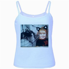 Spider Baby Baby Blue Spaghetti Tank