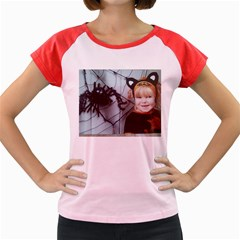 Spider Baby Women s Cap Sleeve T-Shirt (Colored)