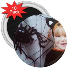 Spider Baby 3  Button Magnet (10 pack)