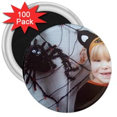 Spider Baby 3  Button Magnet (100 pack)