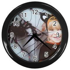 Spider Baby Wall Clock (Black)