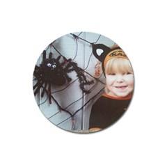 Spider Baby Magnet 3  (Round)