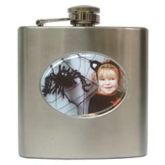 Spider Baby Hip Flask