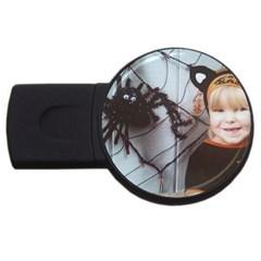 Spider Baby 1GB USB Flash Drive (Round)