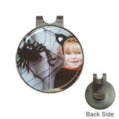 Spider Baby Hat Clip with Golf Ball Marker
