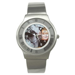 Spider Baby Stainless Steel Watch (Unisex)