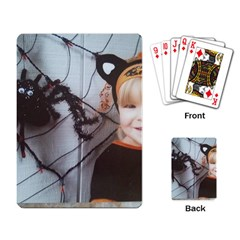 Spider Baby Playing Cards Single Design