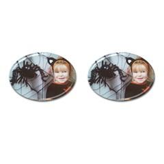 Spider Baby Cufflinks (Oval)