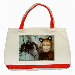 Spider Baby Classic Tote Bag (red)