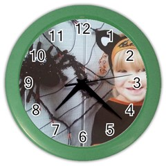 Spider Baby Wall Clock (Color)