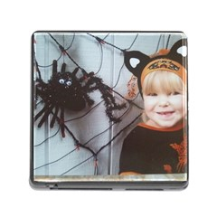 Spider Baby Memory Card Reader with Storage (Square)