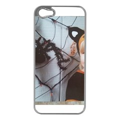 Spider Baby Apple iPhone 5 Case (Silver)