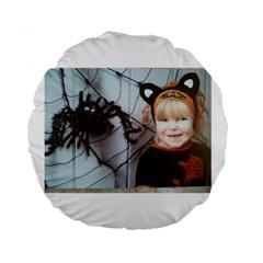 Spider Baby 15  Premium Round Cushion