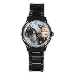 Spider Baby Sport Metal Watch (Black)