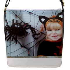 Spider Baby Flap closure messenger bag (Small)