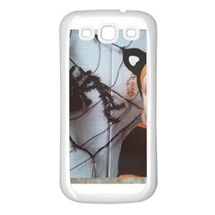 Spider Baby Samsung Galaxy S3 Back Case (White)