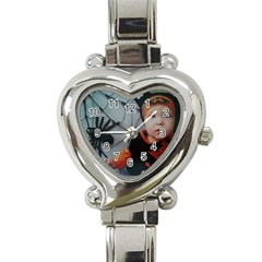 Wp 003147 2 Heart Italian Charm Watch