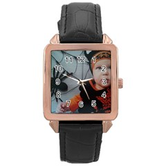 Wp 003147 2 Rose Gold Leather Watch