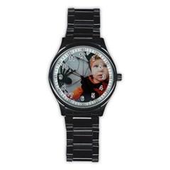 Wp 003147 2 Sport Metal Watch (Black)