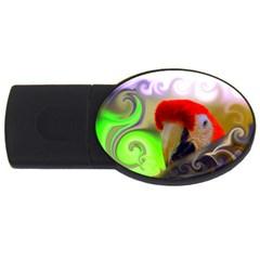 L328 4GB USB Flash Drive (Oval)