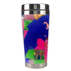 Busy Work Stainless Steel Travel Tumbler