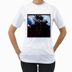 Ice Womens  T Shirt (white)
