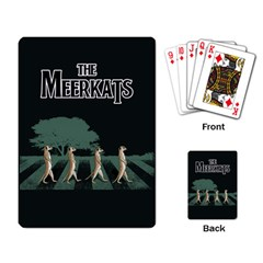 The Meerkats Playing Cards Single Design