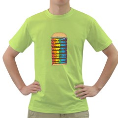Daily Dose of Colour Mens  T-shirt (Green)