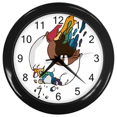 Watch it Wall Clock (Black)
